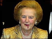 baroness thatcher after treatment