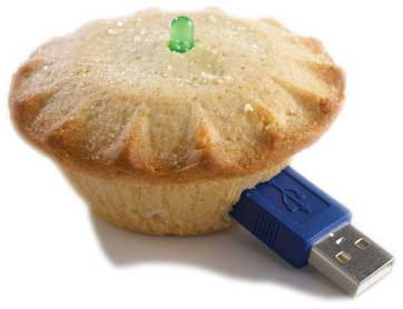 USB Mince Pie